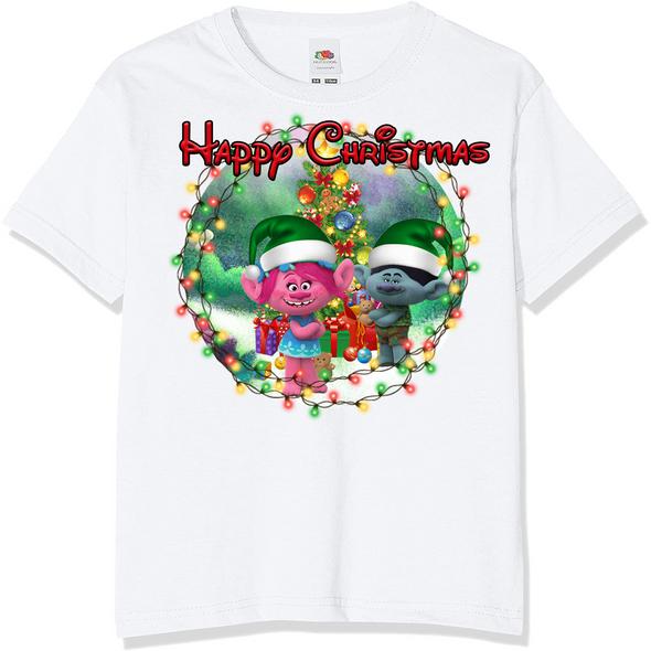 Trolls Christmas Kids T-Shirt