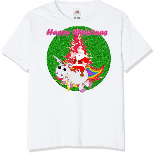 Unicorn Christmas T-Shirt,