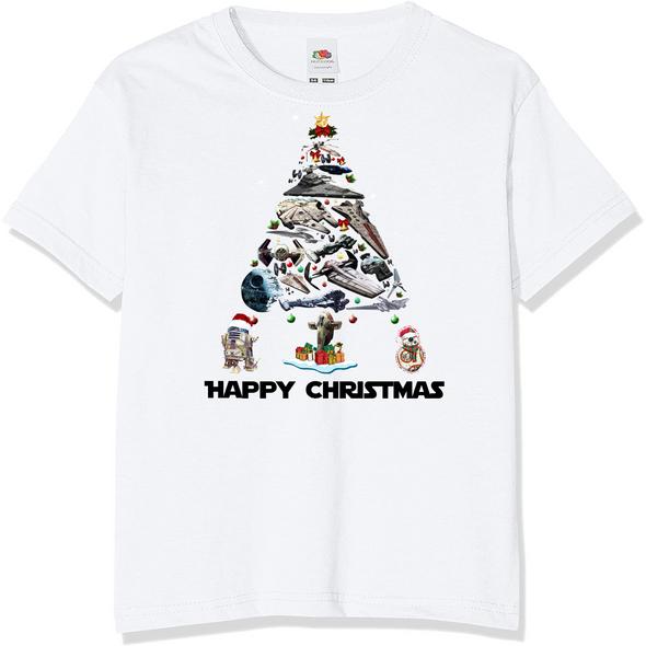 Star Wars Christmas Kids T-Shirt,