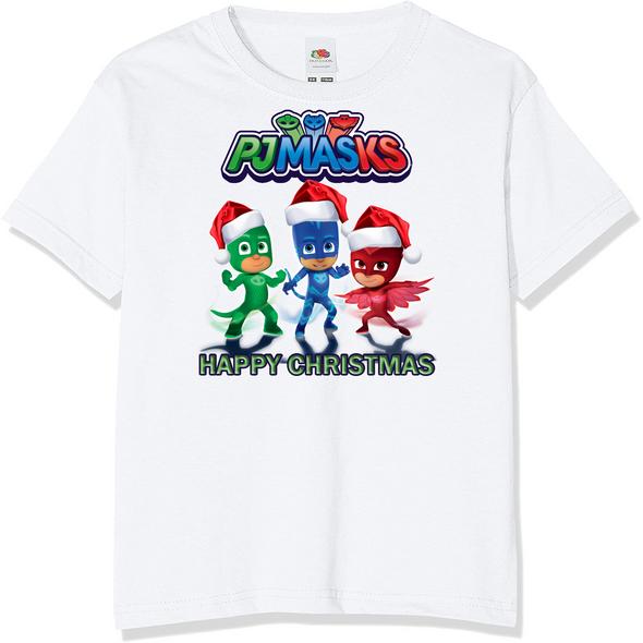 PJ Masks Kids Christmas T-Shirt