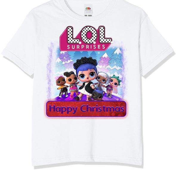 LOL Surprises Christmas Kids T-Shirt