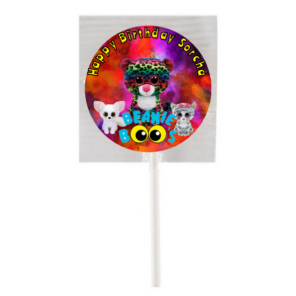 15PK Hotel Beanie Boo Lollipops,