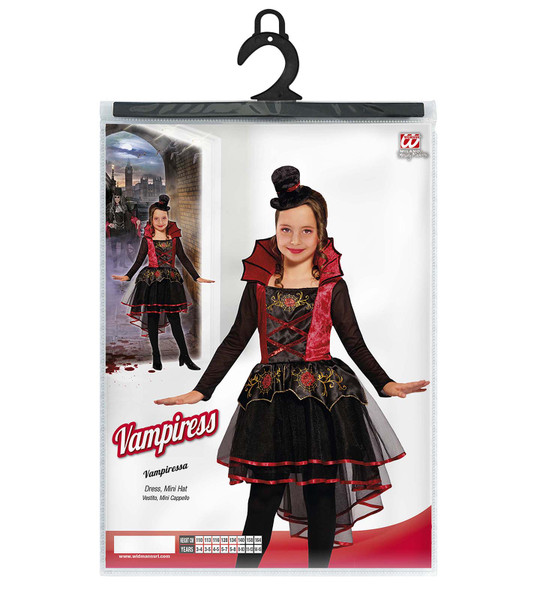 Kids Vampiress Costume Packet