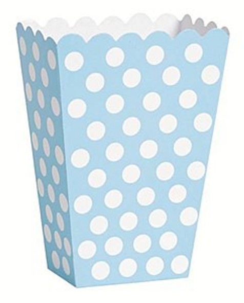Baby Blue Treat Boxes