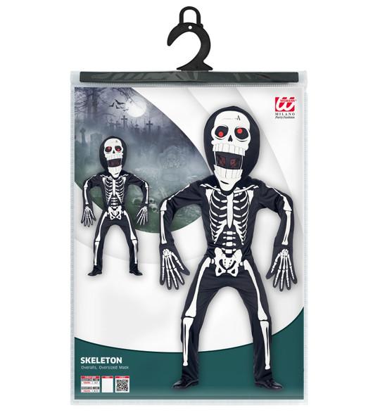 Oversized Head Skeleton Costume Pack