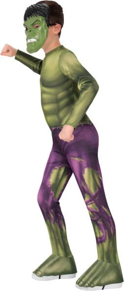 Kids Avengers Hulk Costume Side View