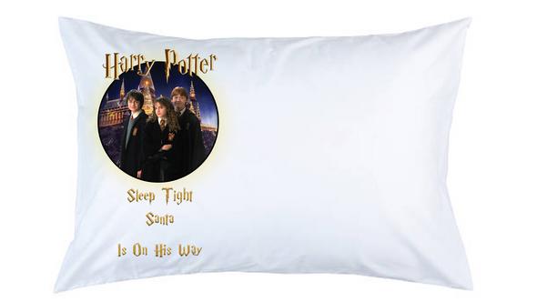 Harry Potter Christmas Pillow Case