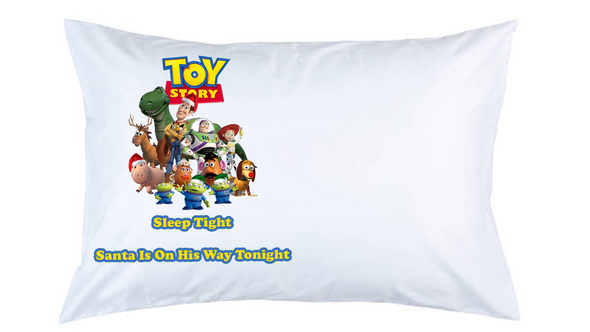 Toy Story Christmas Pillow Case,