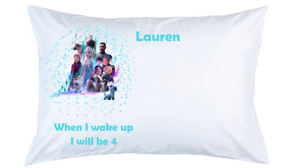 Frozen Personalised Pillow Case