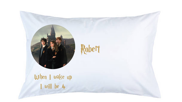 Harry Potter Personalised Pillow Case
