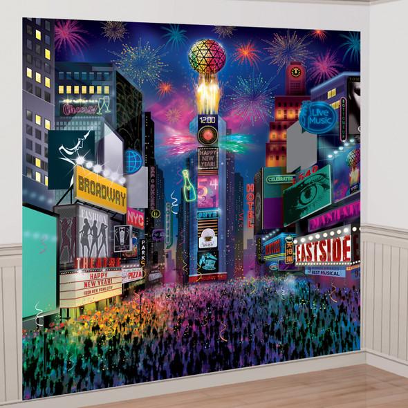 Deluxe Times Square Scene Setter (8ft)