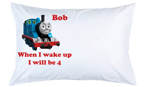Thomas the Tank Engine Personalised Pillow Case