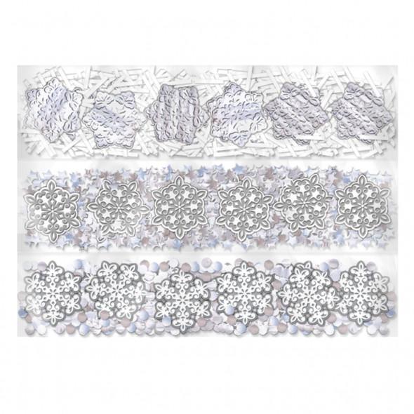 Snowflake Confetti 3 pack