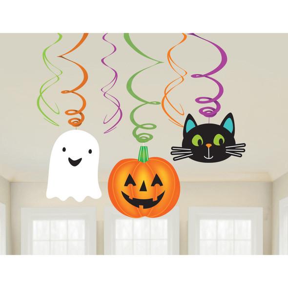 Halloween Friends Swirl Decorations