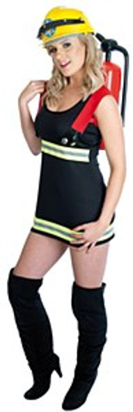 Womens Sexy Firefighter Costume