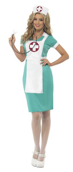 Ladies Scrub Nurse Costume