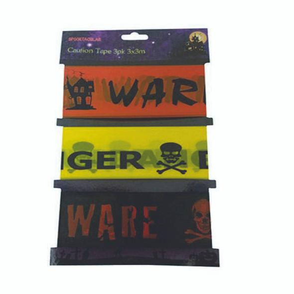 Halloween Caution Tape (3 Pack)