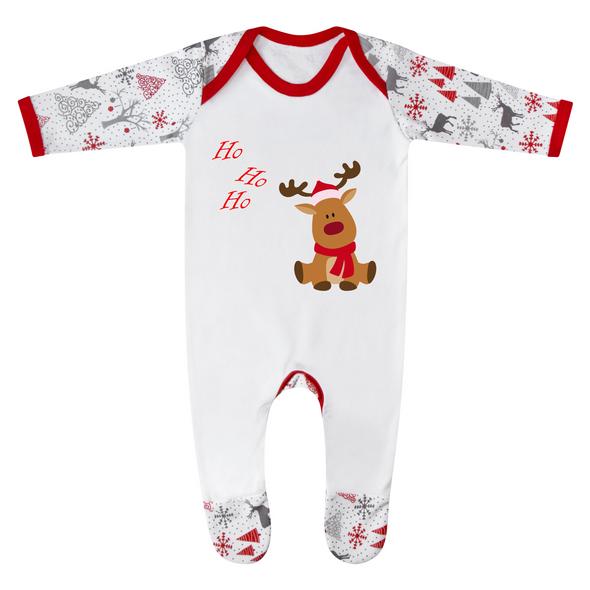 Ho Ho Ho Personalised Baby Romper