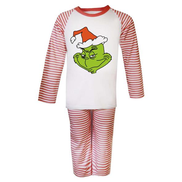 Grinch Mens Pyjamas Set
