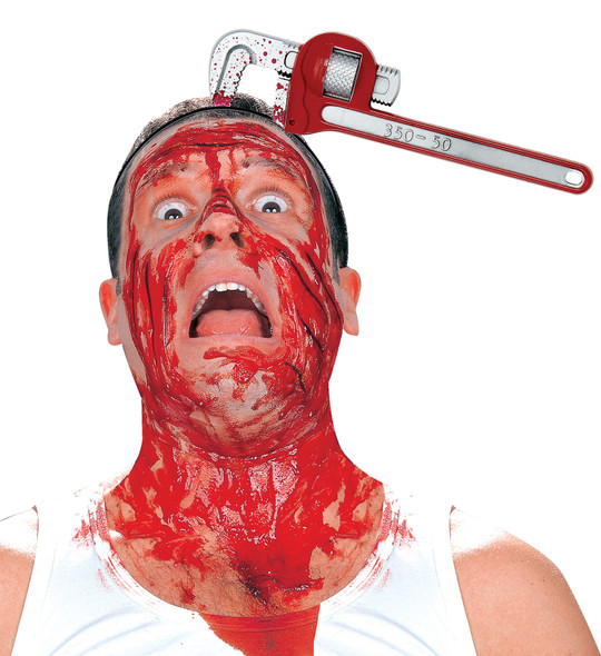 Bloody Pipe Wrench Headband