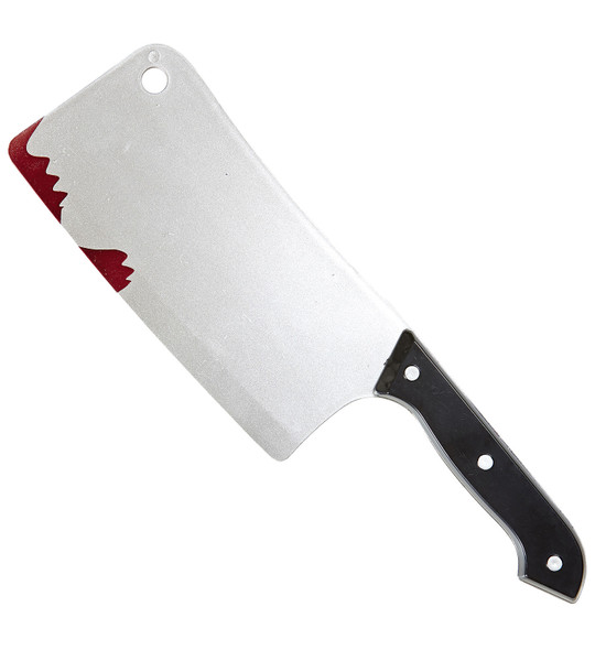 Bloody Cleaver Knife