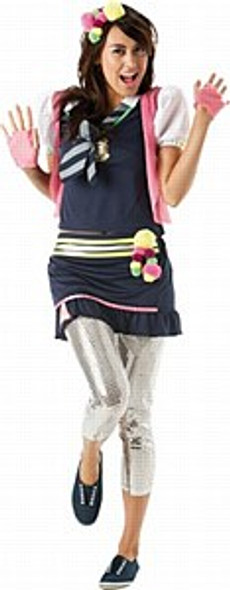 St Trinians Flammable Costume