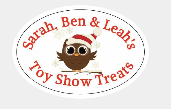 8Pk Toy Show Oval Labels