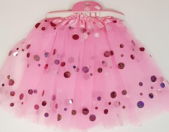 Baby Pink Dotted Tutu