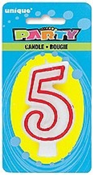 Birthday Candle 5