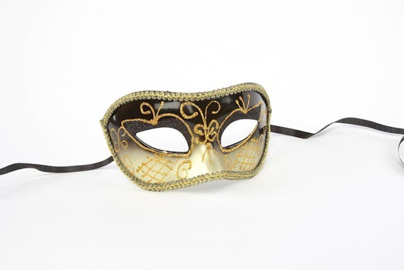 Black Colombina Eyemask