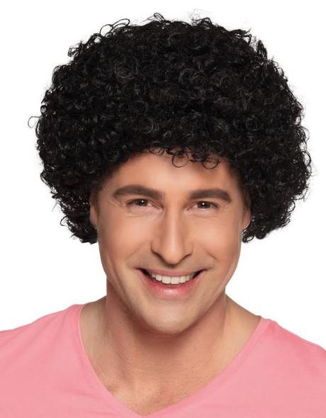 Black Curly Clown Wig