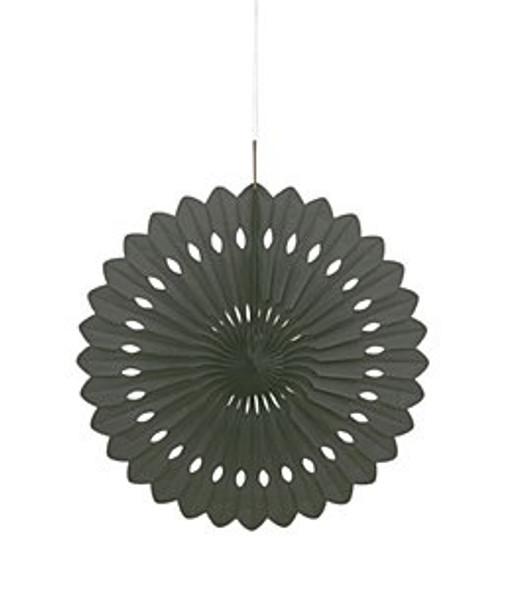 Black Paper Fan