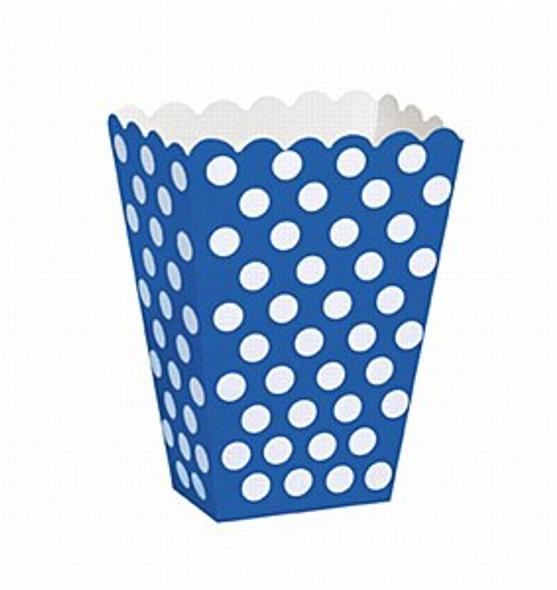 Blue Dots Treat Boxes