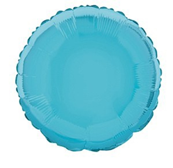 Blue Round Foil Balloon