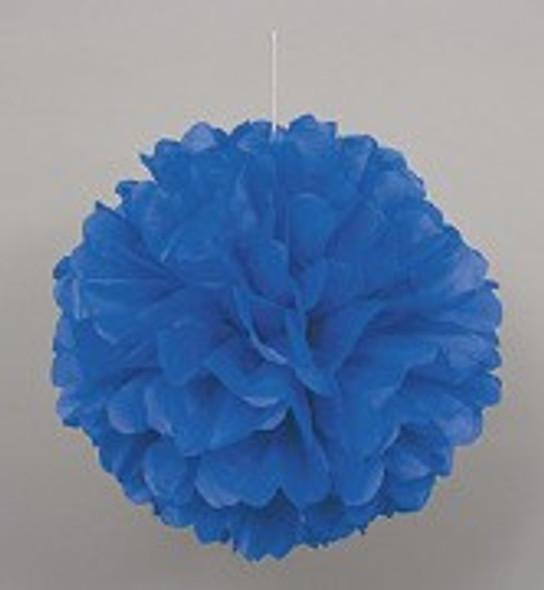 Blue Puff Ball Decoration