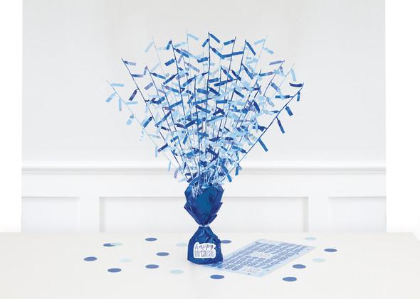 Blue Table Centrepiece