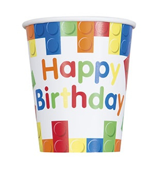 Building Blocks Party Cups