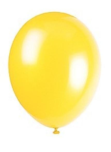 Canary Yellow Balloons