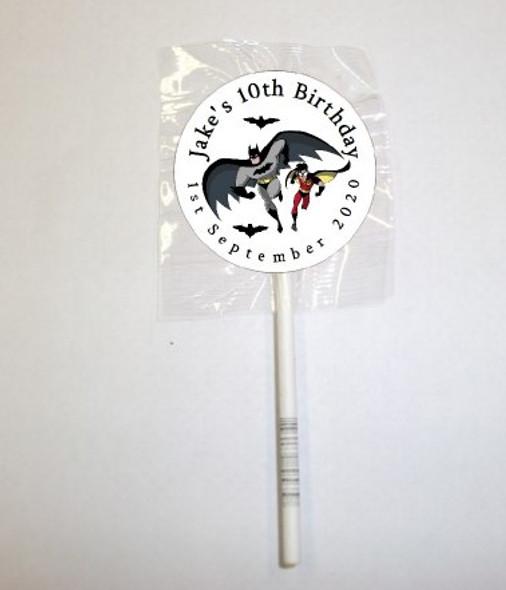 15Pk Batman Lollipops