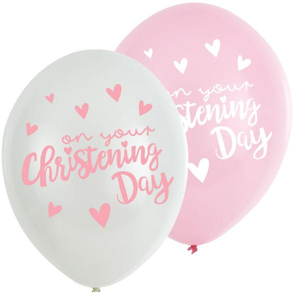 Christening Day Balloons