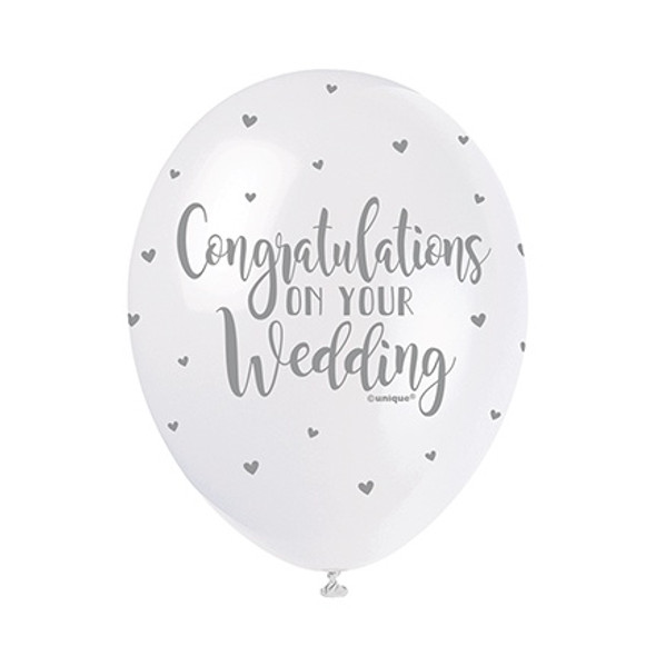 Congrats Wedding Balloons