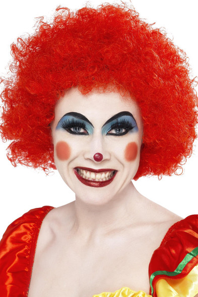 Crazy Red Clown Wig