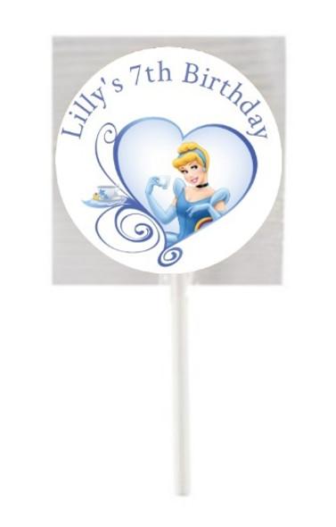 15PK Cinderella Lollipops