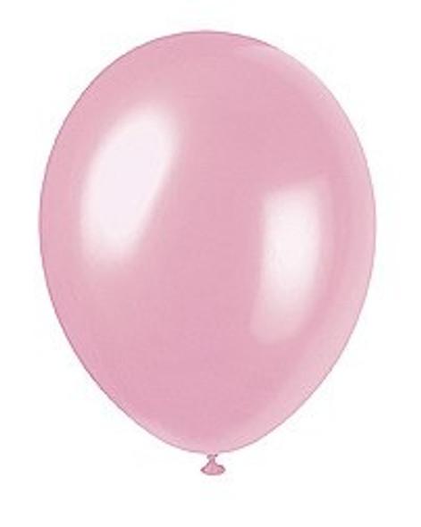 Crystal Pink Balloons