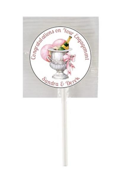 15PK Engagement Lollipops
