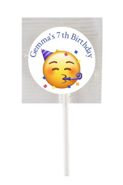 15PK Emoji Lollipops