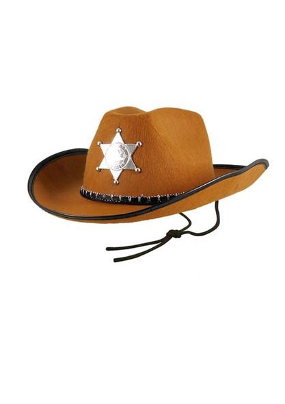 Deputy Brown Cowboy Hat