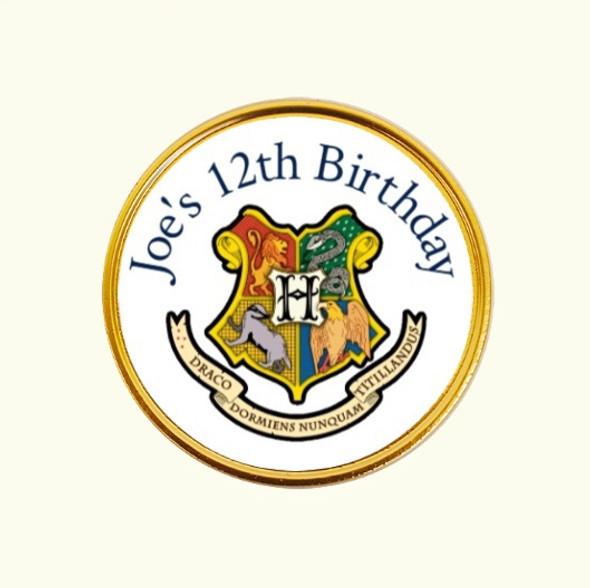15Pk Harry Potter Coins