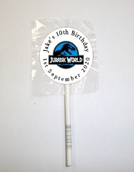 15Pk Jurassic World Lollipops