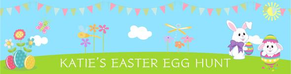 Easter Egg Hunt Banner